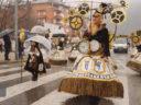 El Desfile de Carnaval de Ponferrada se celebra, a pesar de la lluvia
