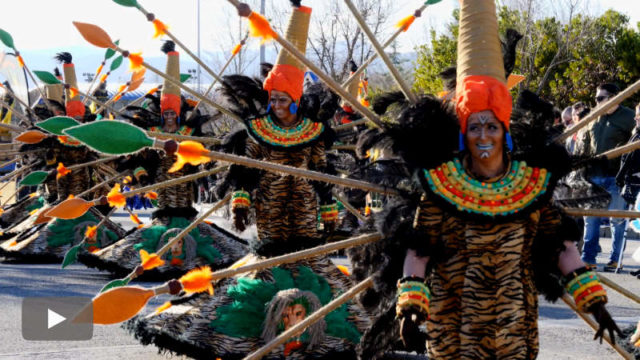 """Carnaval de """"primavera"""" en Cubillos del Sil"""