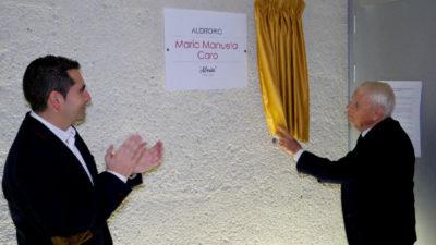 Los nombres de Cristóbal Halffter y Marita Caro quedan unidos para siempre en el Conservatorio de Ponferrada