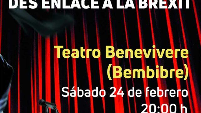 La Escuela Oficial de Idiomas presenta en el Benevivere la obra de teatro 'Des enlace á la Brexit'