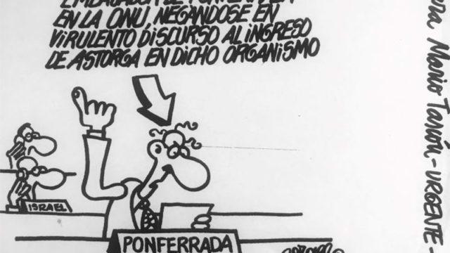 CB pide que se le dedique una calle en Ponferrada al humorista gráfico Forges