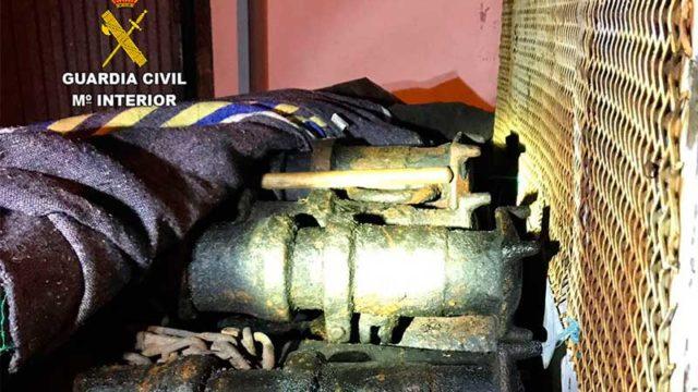 La Guardia Civil detiene a dos personas por el presunto robo con fuerza en una mina de Bembibre