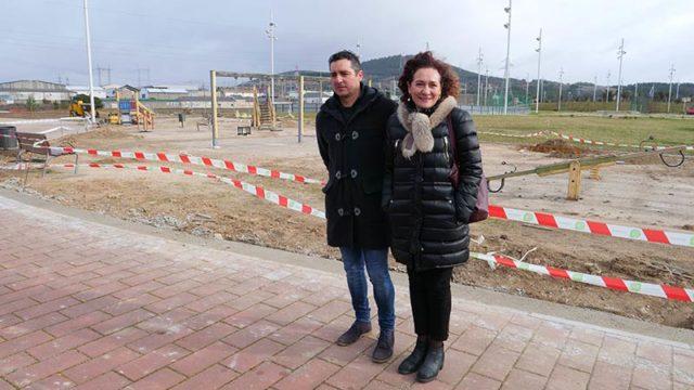 A finales de febrero estará terminada la 1ª fase de la urbanización del entorno de la Torre de la Rosaleda