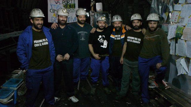 encierro mineros Santa Cruz