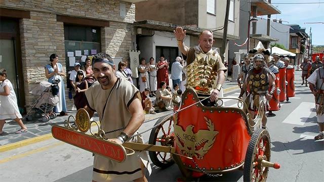 Fiesta romana en Cacabelos