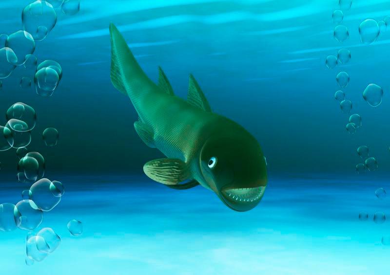 recreación especie marina encontrada en Teruel