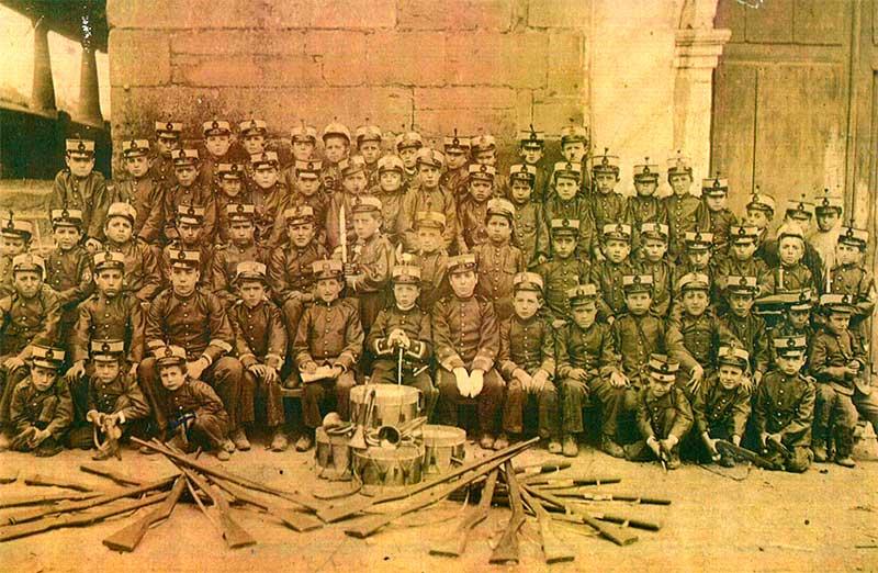 Uniforme batallón infantil-Bembibre