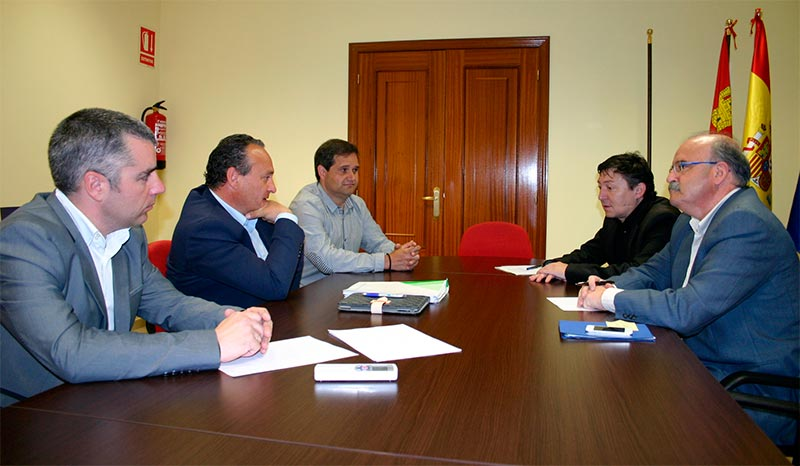Reunión Samuel Folgueral - Alfonso Arias
