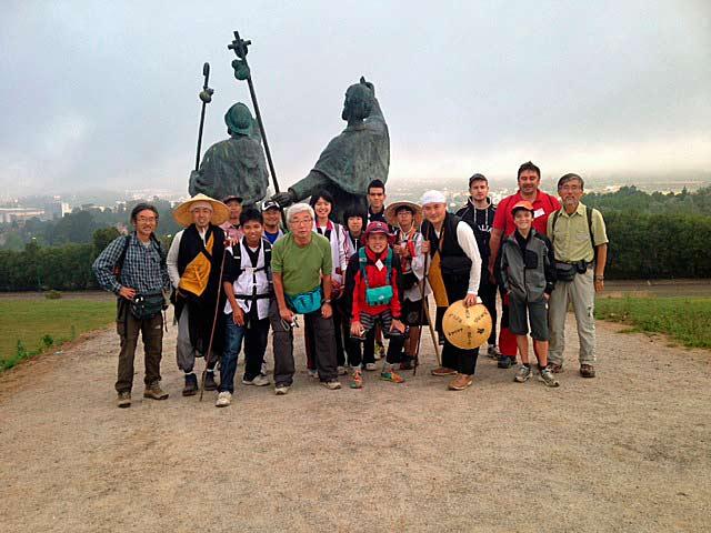 Delegación japoneses Camino Santiago