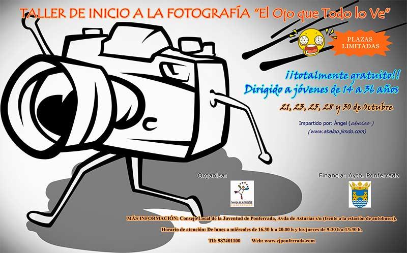 taller fotografía consejo local juventud