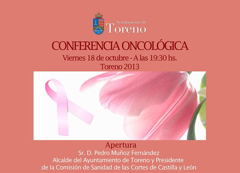 Conferencia oncología en Toreno
