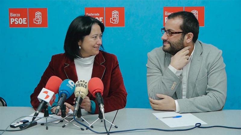 Ángela Marqués e Ibán García