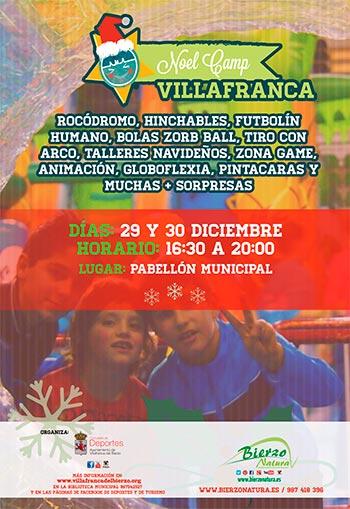 Noel Camp Villafranca del Bierzo