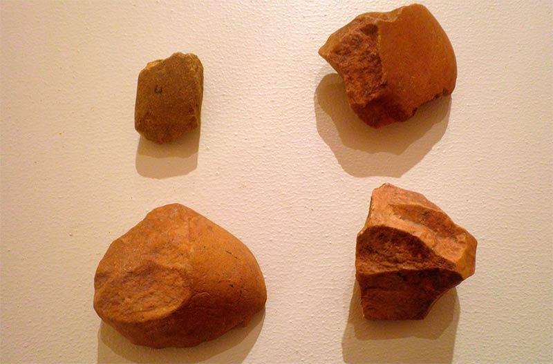 Útiles Paleolítico de San Román de Bembire