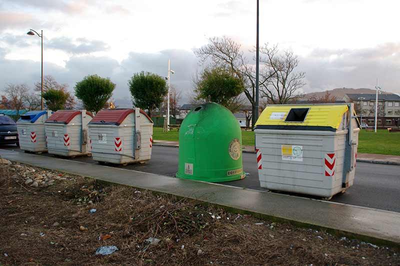 Contenedores basura Compostilla