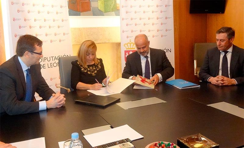 Convenio Diputación-Microbank para emprendedores