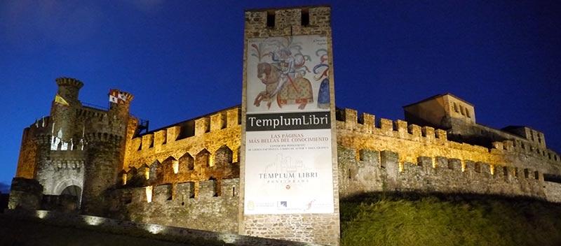 Castillo de los Templarios en Ponferrada