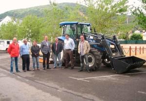 Tractor Molinasec a