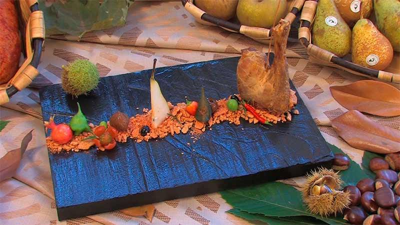 Jornadas Gastronómicas del Bierzo celebradas en el Parador Antonio Pereira de Villafranca del Bierzo en el año 2011. Foto Raúl C.