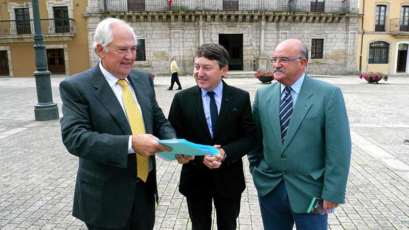 Guillermo García, Samuel Folgueral y Emilio Cubelos