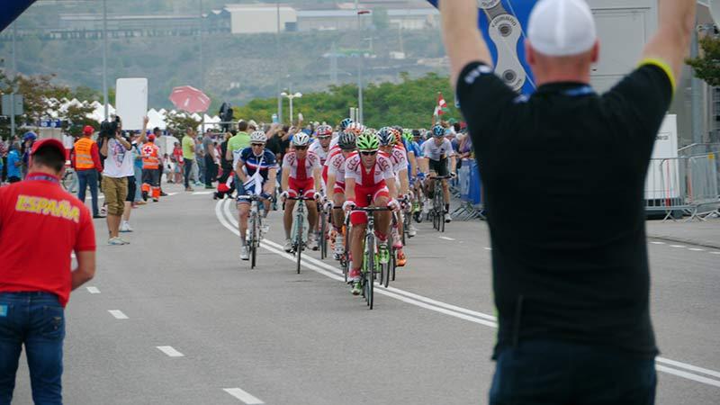 Mundial de Ciclismo en Carretera 2014 en Poneferrada. Foto: Raúl C.