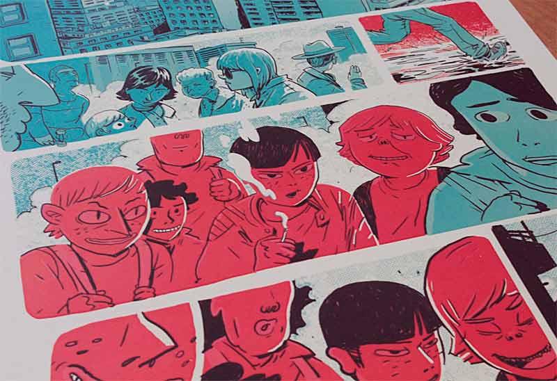 Cómic de Adrián Arias Astorgano premiado en el certamen Ciutat de Cornellá