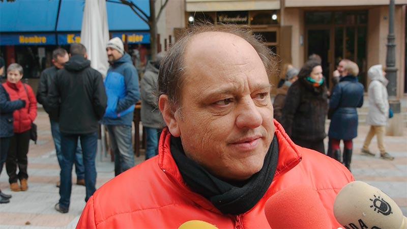 Miguel Ángel Fernández (Tanque). Foto Bierzotv.