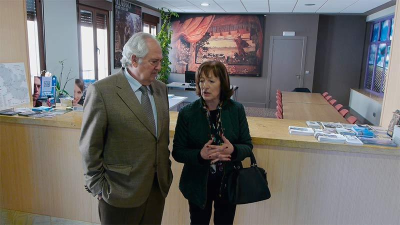 Villafranca invierte euros en la rehabilitaci n de for Oficina de turismo leon