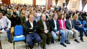 Acto de presentación de candidatos del PP del Bierzo y Laciana en Ponferrada. Foto Bierzotv.