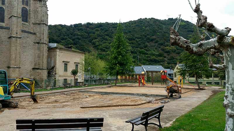 Parque Infantil de Villafranca del Bierzo