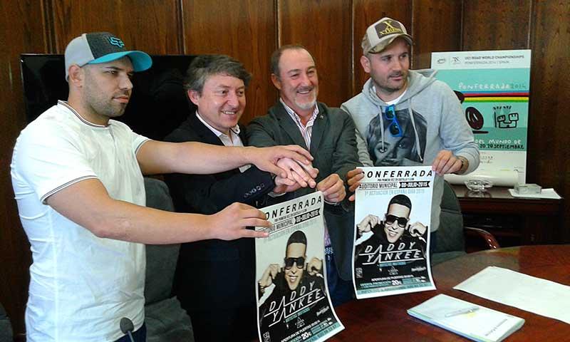 Presentación del concierto de Daddy Yankee en Ponferrada. Bierzotv