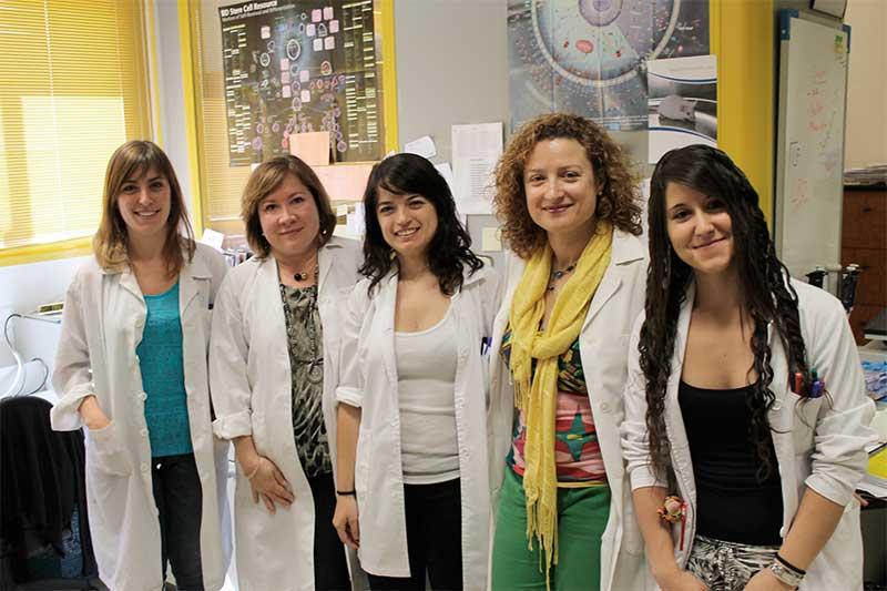 Grupo de investigación del Departamento de Biomedicina de la ULE.