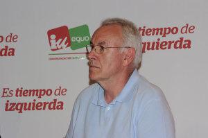 Cayo Lara, Coordinador Federal de Izquierda Unida. Foto Bierzotv.