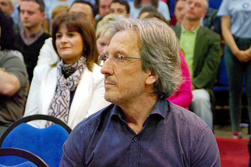 Pedro Muñoz, Coalición por el Bierzo. Foto Bierzotv.