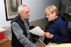 Antonio Vega y Rita Prada. Foto Bierzotv.