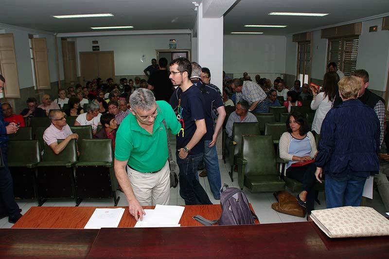 Asamblea del PSOE en UGT. Foto Bierzotv.