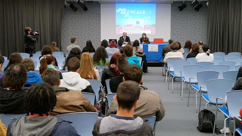 Centro Integrado de Formación Profesional de Ponferrada. Foto: Raúl C.