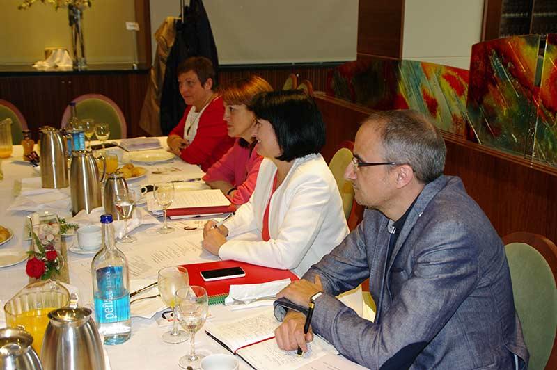 Concejales de la agrupación municipal del PSOE. Foto: Raúl C.