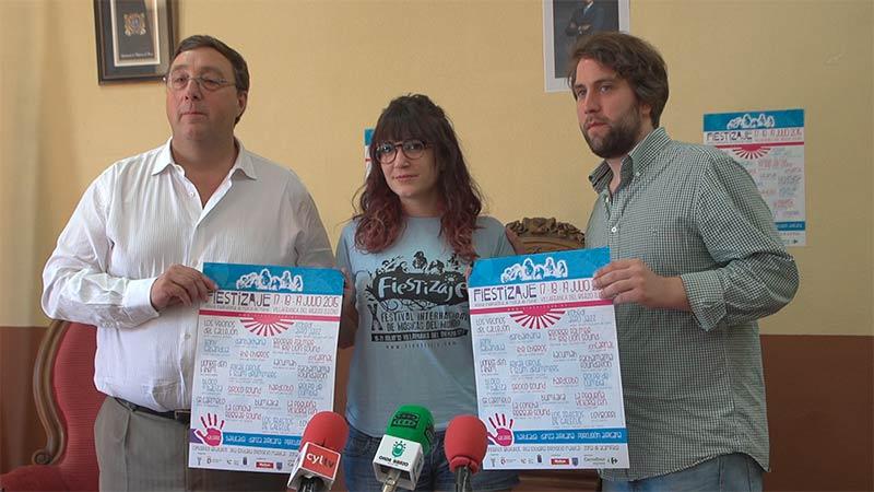 Susana de Leniz y José Manuel Pereira presentan el Fiestizaje 2015. Foto: Raúl C.