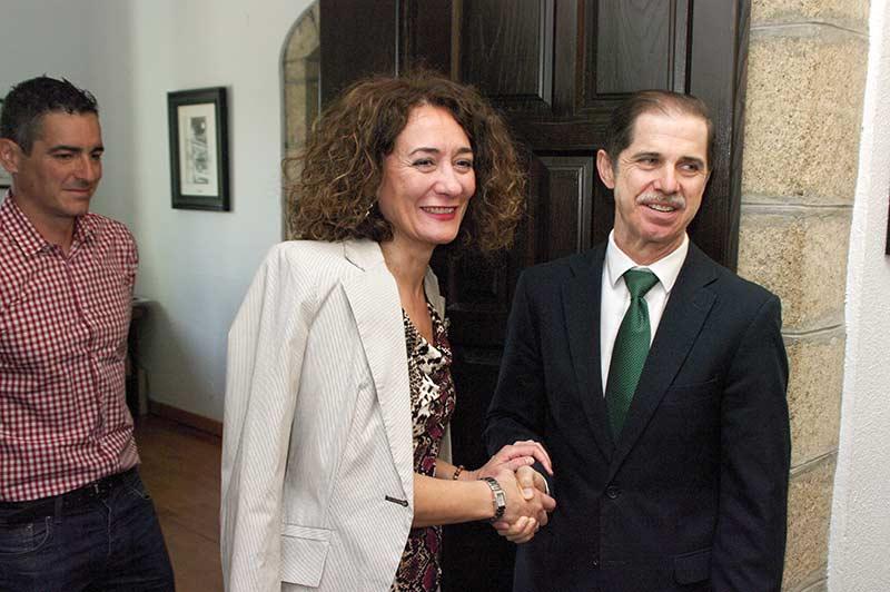 Francisco Marín y Gloria Fernández Merayo. Foto: Raúl C.