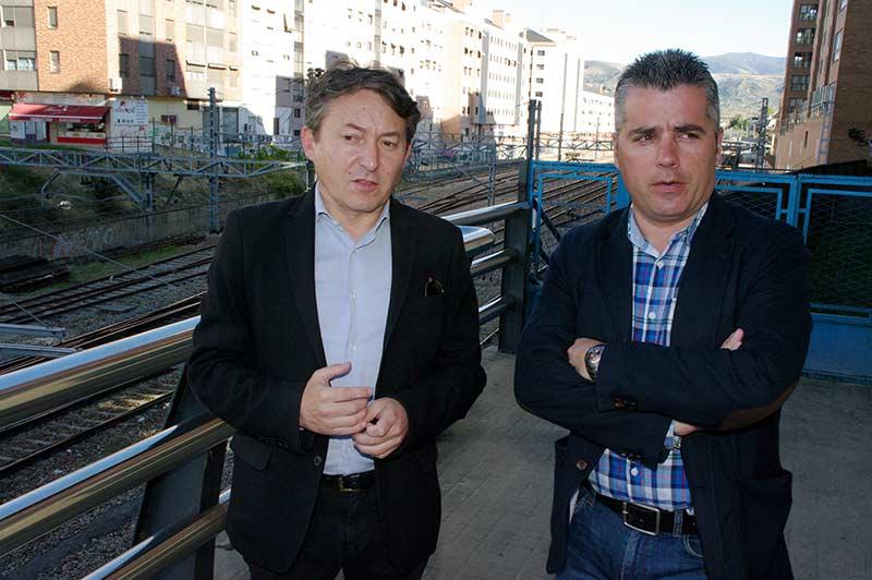 Samuel Folgueral y Santiago Macías - USE Bierzo. Foto: Raúl C.