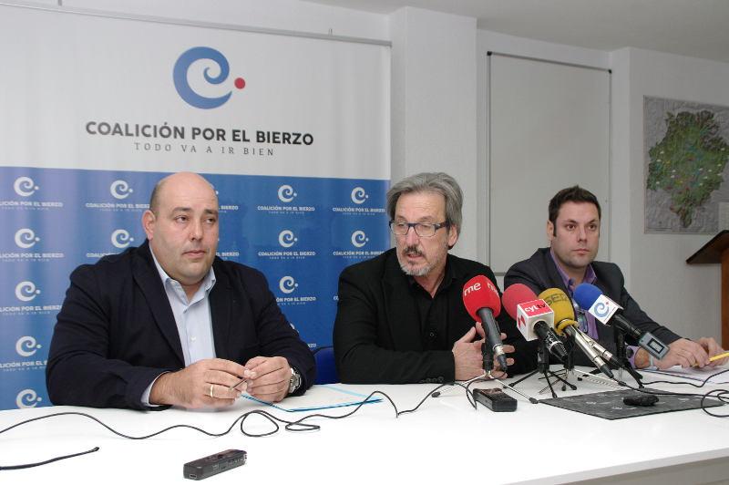 Coalición por el Bierzo. Foto: Raúl C.