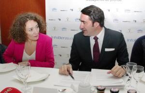Gloria Fernández Merayo y Juan Carlos Suárez Quiñones. Foto: Raúl C.