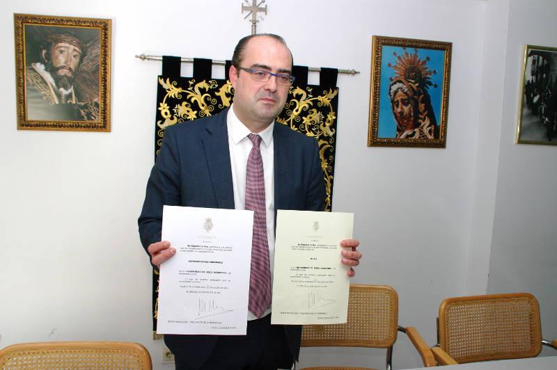 """El Rey Felipe VI concede el título de """"Real"""" a la Hermandad Jesús ..."""