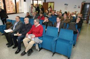 Alcaldes del Bierzo en la reunión sobre la ordenación del territorio planteada por la Junta de Castilla y León. Foto: Raúl C.