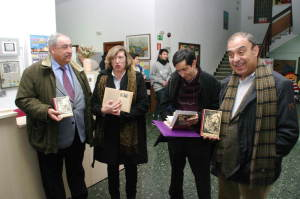 """Presentación en Ponferrada de la edición facsimilar de """"El Señor de Bembibre"""". Foto: Raúl C."""