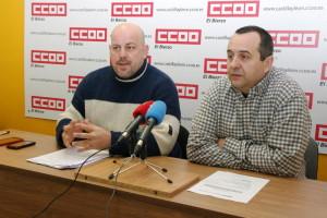 Alberto Canosa y Ursicino Sánchez. Foto: Raúl C.
