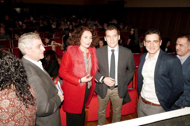 Gloria Fernández Merayo en la IX Gala de Gimnasia de Castilla y León. Foto Raúl C.