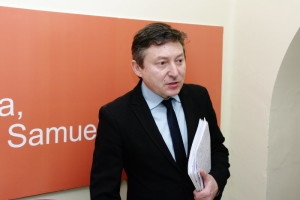 Samuel Folgueral, portavoz de USE Bierzo. Foto: Raúl C.