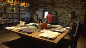 Biblioteca Templaria Castillo de los Templarios de Ponferrada. Foto: Raúl C.